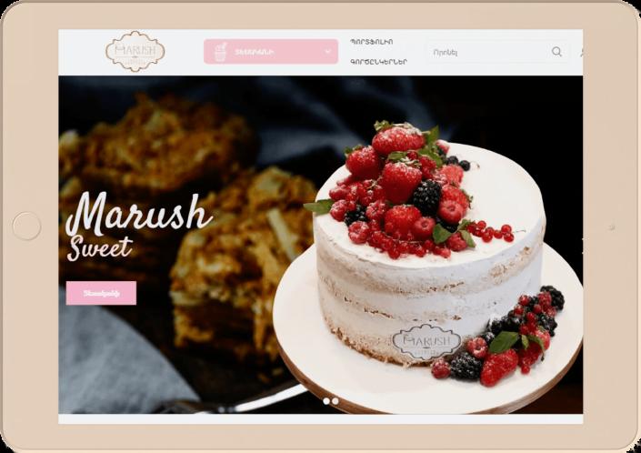 Marush - Website development