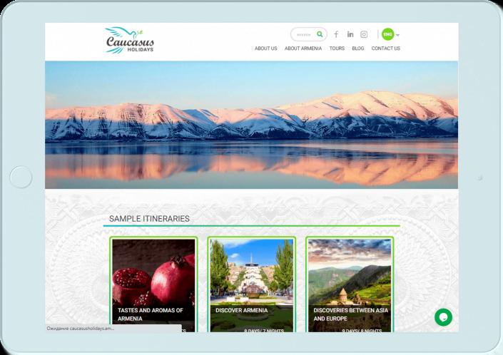 Caucasus travel - SEO